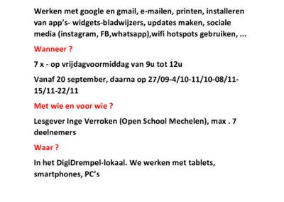 Affiche Digitaal Communiceren P001