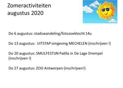 Zomer Aug 2020